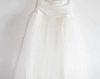 Vintage 1980s Gunne Sax Jessica McClintock Wedding Dress