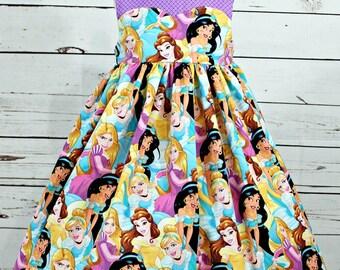 Girls Princess Dress- Toddler girls Princess Dress- Baby Girls Princess Dress- Cute Dress- 3m-6m, 6-12m,12-18m, 18-24m, 2t, 3t,4 t, 5t, 6, 8