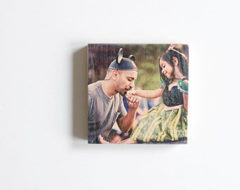 4 X 4 Photo Wood Block, Color Photo Transfer, Wood Photo Transfer, Custom Wood Photo, Photo on Wood, Picture on Wood, Wood Picture Frame