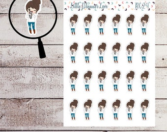 Picture Taking Character Planner Stickers for all Planners