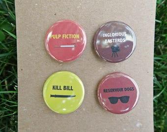 Quentin Tarantino Movie Inspired Pins