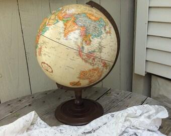 "Vintage 12""  Replogle Globe"