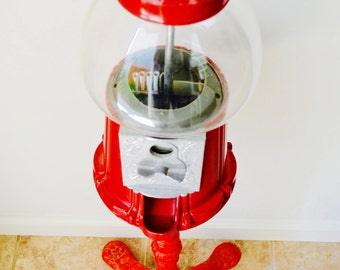 Gumball Machine with Cast Iron Base