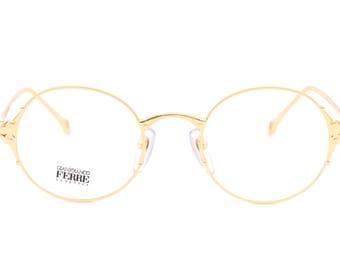 Gianfranco Ferrè GFF81 luxury vintage eyeglasses made in Italy 90's