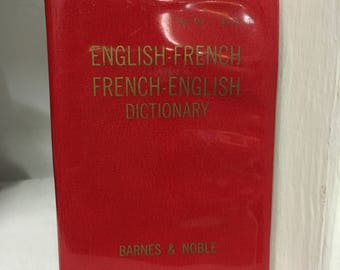 1967 English-French French-English Pocket Dictionary