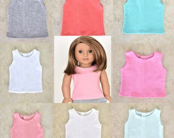 Basic Top 18 inch doll clothes Choose your color