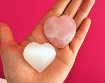 Crystal Hearts for Love and Relationships