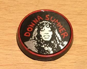 Vintage Donna Summer Badge