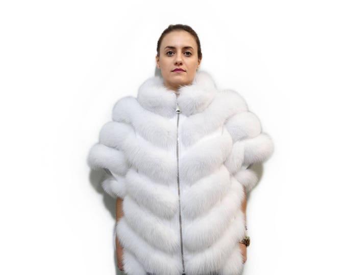 Luxury Fox Fur Coat F702