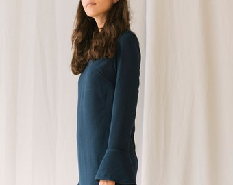 Azolla Navy Dress