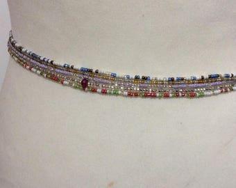 Waistbeads, 5 X Waist beads , Waist ornaments