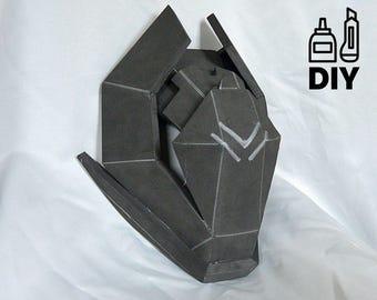 DIY Destiny2: Speaker mask templat for EVA foam