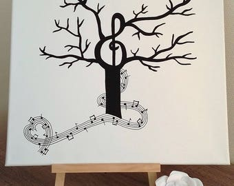 """Tree footprints theme music """"Melody of happiness"""" for a wedding, birthday, retirement, birth, baptism... """""""""""