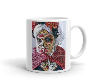 Skull Girl Mug