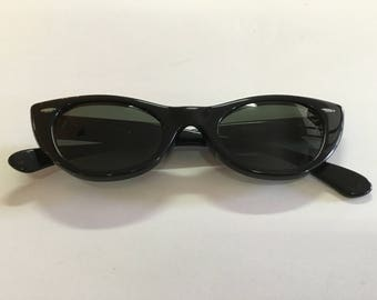 Vintage Ray Ban Bausch and Lomb USA W0959 Lisbon Cat Eye Sunglasses
