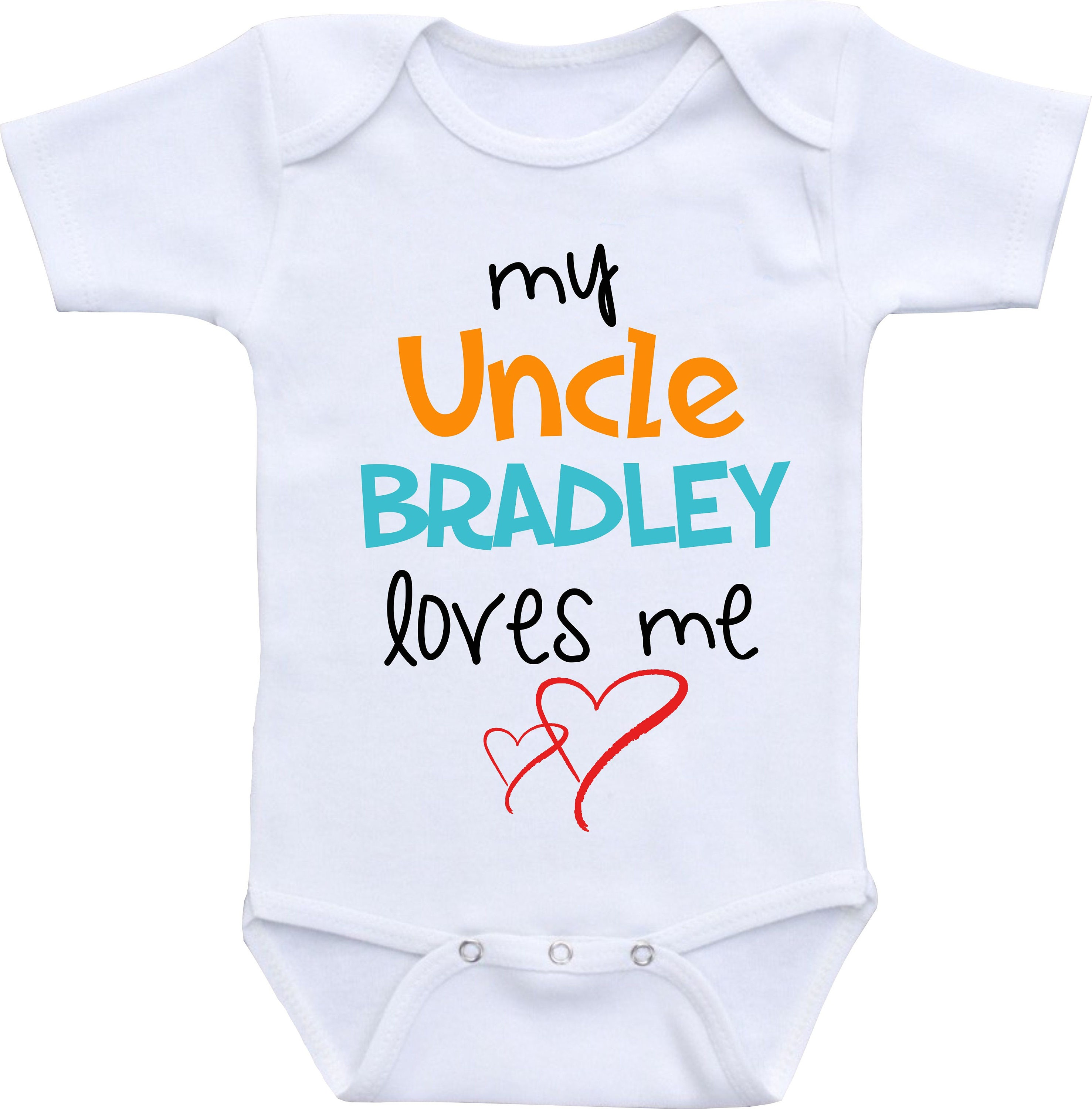 Uncle baby girl clothes Uncle onesie for girl Uncle baby boy clothes