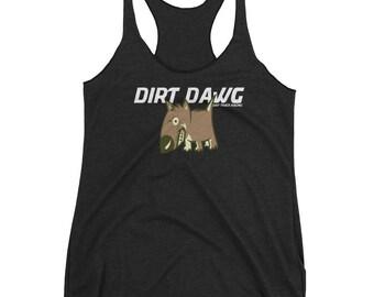 Dirt Track Racing, Dirt Racing Shirt,Dirt  Dawg Collection, Racing Tank Top,, Racing Shirts for Women, Racing Shirts, Women's Race Tank Tops