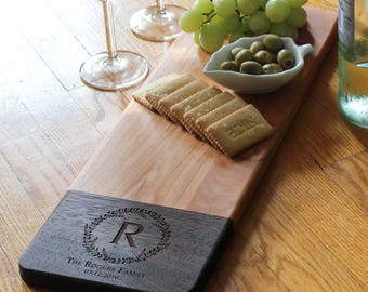 Personalized cheese Board, customized cheese board, custom cutting board, wedding gift, housewarming gifts, wedding gifts, Christmas gifts