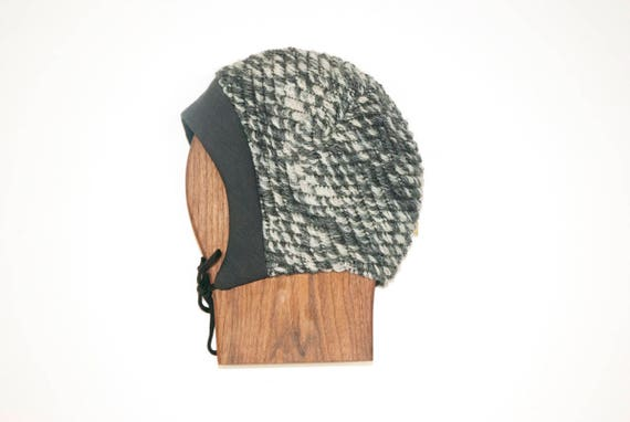 LINOTTE - winter wool hat, polar linning for baby and kids: boys and girls - charcoal grey