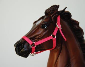 Custom Breyer/Peter Stone Traditional 1:9 Scale Grosgrain Model Horse Halter