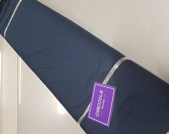 Midnight Blue Viscose Jersey  220gsm