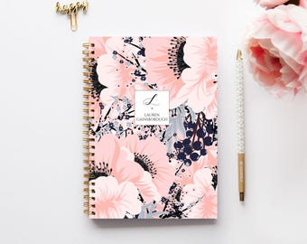 A4 Planner - 2018 Planner - 2018 Weekly Planner - Personalized Planner - 2018 Diary - Custom Gift -  2018 Agenda - Diary - 2018/2019 Planner
