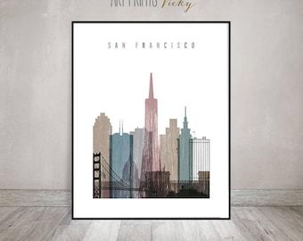 Beau San Francisco Art | Etsy