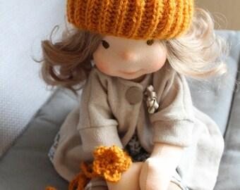 "Waldorf doll style 43cm\17.2"" Puppen Poupee Muneca Rag doll"