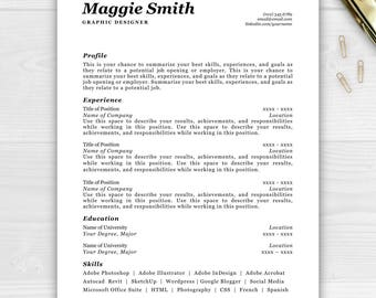 resume sale professional resume template for word pages instant download resume instant