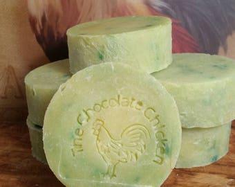 Hemp Soap Bar, Soap Hemp - Sensuous Sandalwood Hemp Soap - Natural Homemade Soap, Goat Milk Soap, Natural Soap Bar, Bar Soap, Bath Soap