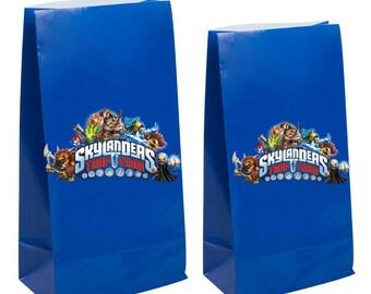 Skylanders Party Favor gift Bags ~ Skylanders birthday  Party Inspired Decorations & Decor