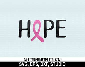 Breast Cancer SVG, Cancer SVG, Breast Cancer Decal, Cancer Ribbon SVG, silhouette files, svg designs, svg files, svg design, silhouette svg