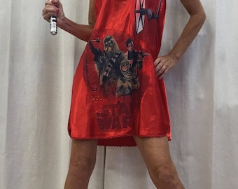 Star Wars Comic Con Dress Skirt Star Wars Cosplay Dress Skirt Star Wars Tube Dress Mini Dress Size up to 36 inches