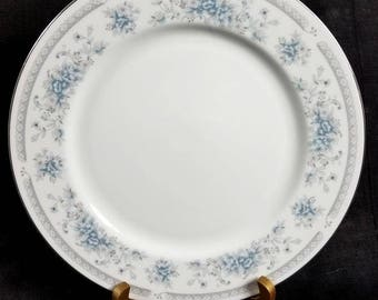 American Limoges, Salem Heritage Collection, Bridal Bouquet, Dinner Plate, Discontinued Pattern, Timeless Elegance, Becoming Rare