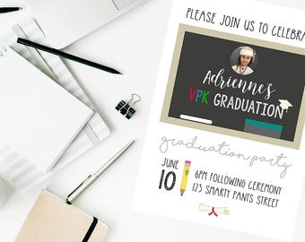 VPK Graduation Invitation