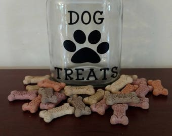 Dog Treat Jar.Dog Treat Container.Doggie Treats.Personalized Dog Treat Jar.Dog Treat Canister.Dog Treats Jar.Doggie Jar.Dog Lover Gift