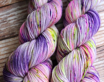 Isabel - Flores - Hand Dyed Yarn - 75/25 Superwash Merino/Nylon