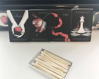 Twilight Series Book Matches // Stephanie Meyer // Stocking Stuffers