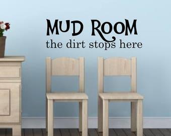 mud room decals | etsy