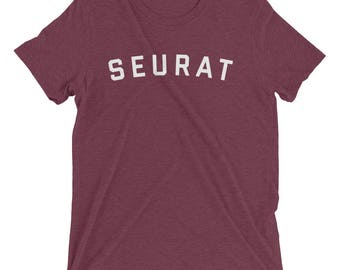 GEORGES SEURAT Shirt, Seurat Shirt, Georges Seurat, Artist Gift, Artist Shirt, Gifts for Artists, Art Teacher Gift, Impressionist, Art Shirt