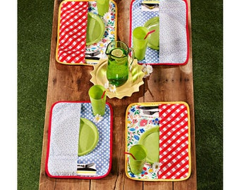 Sewing Pattern for Table Access, Simplicity 1126, Tablecloth, placemats, table runner, Stuffed Pumpkins, Baskets, Picnic Placemats
