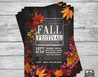 Fall Festival Flyer or Invitation