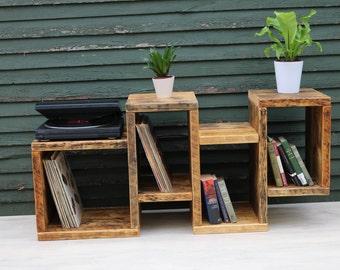 Modern storage unit/ unique shelf unit/ display unit