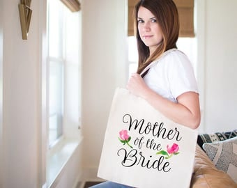 MOB tote bag, MOB wedding tote, mother of the bride tote, Wedding Tote mob, Mother Wedding Tote, Floral Mother of the Bride Tote, MOB Tote