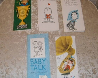 Nine Vintage Assorted Occasion Cards