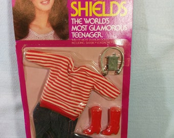 """Outfit for an 11"""" Brooke Shields doll"""