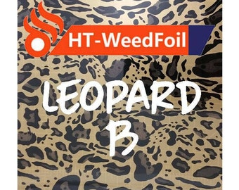 HT WeedFoil Heat Transfer Vinyl - Iron On - HTV - Leopard B Foil