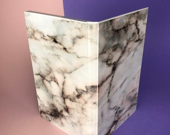 Coloured Marble Magnetic Makeup Palette - Double Sided Print