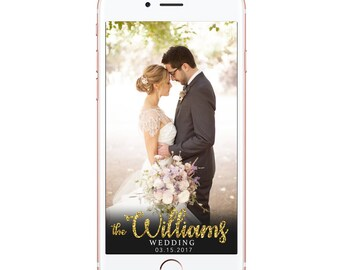 Snapchat Filter Wedding | Snapchat Geofilter Wedding Filter | engagement | We Do | Married | Personalized Custom Filter | DIGITAL FILE