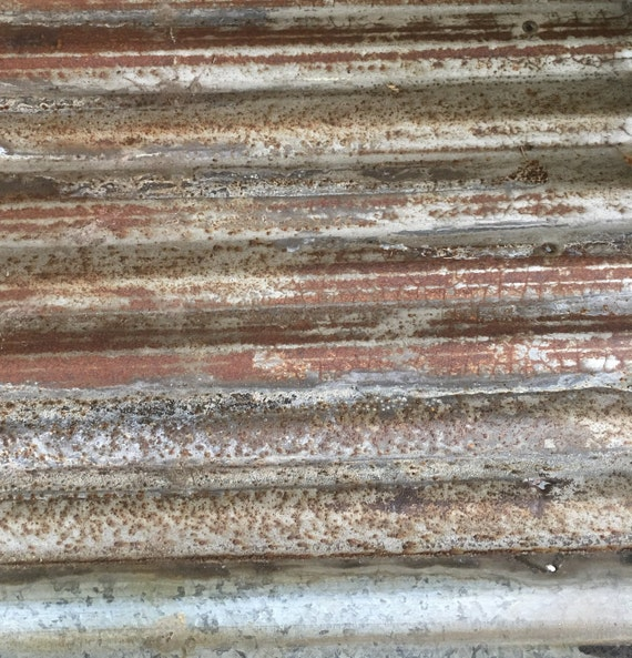 Rusty corrugated metal reclaimed galvanized metal sheets for Galvanized metal sheets for crafts
